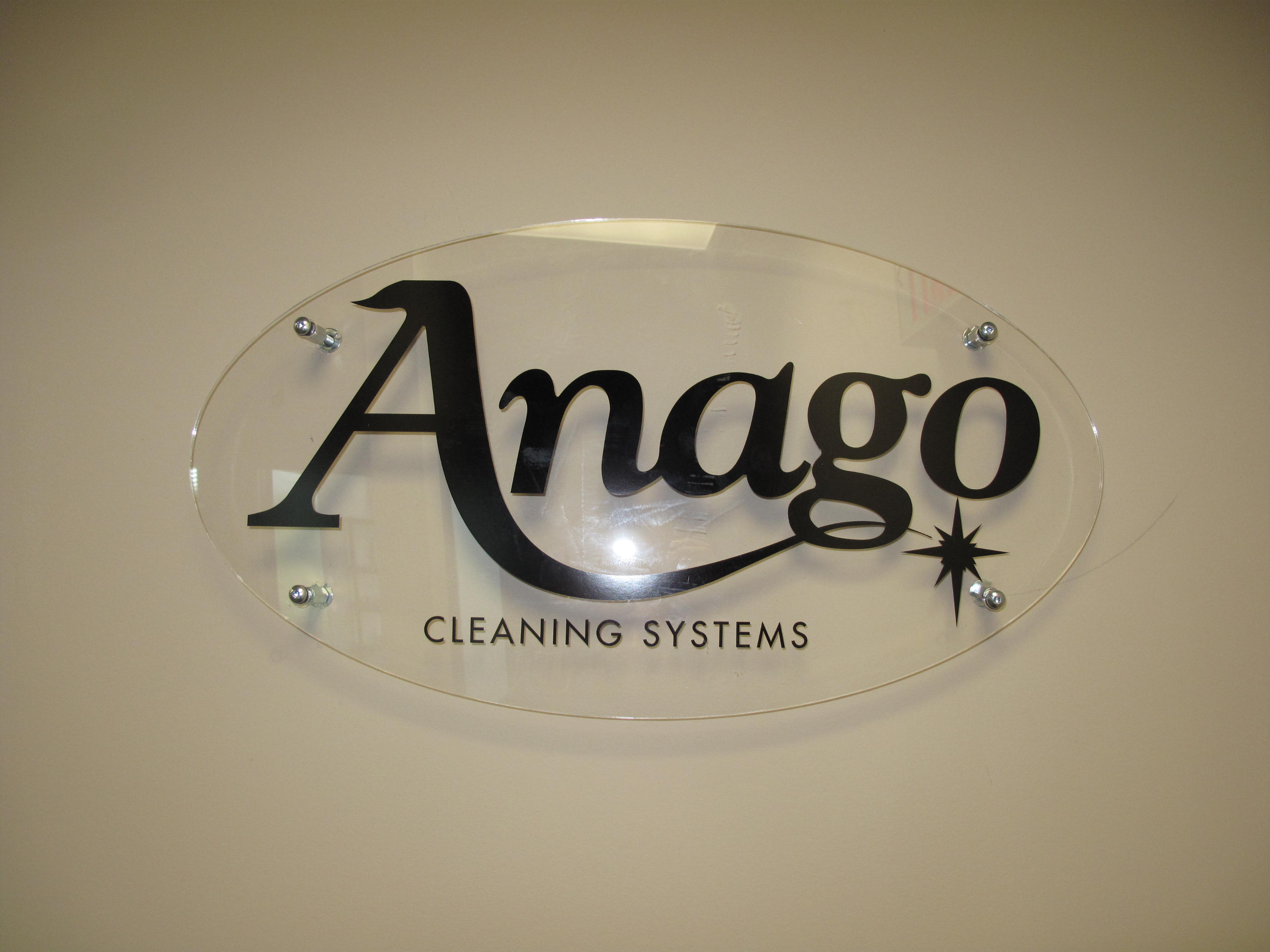 banner wall Anago Cleaning Services in Vancouver