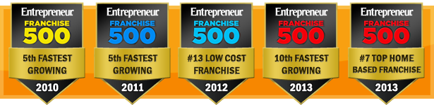 accolades entrepreneur magazine franchise 500 badges Anago Vancouver