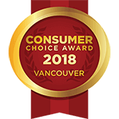 Winner of the Vancouver Consumer Choice Awards 2020
